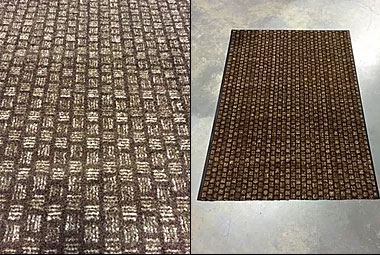 Brown Weave Floor Mats
