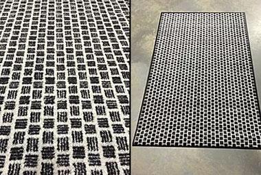 Black Weave Floor Mats